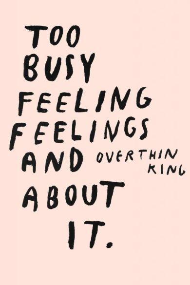 overthiking